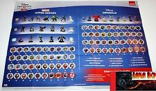 POSTER DISNEY INFINITY 2.0 DOUBLE FACE 59X43 CM OFFICIEL