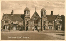 WIMBORNE( Dorset) :The Grammar School