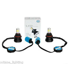 9004 CREE HID SMD COB LED Low/Hi Beam Headlight Light Bulb 6000K 4000LM 40W PAIR