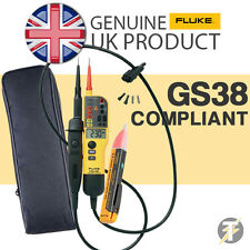 FLUKE T130 Voltage & Continuity Tester, 1AC Non Contact Voltstick & LDMC1 Case