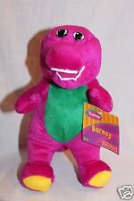 """NEW WITH TAG BARNEY THE PURPLE DINOSAUR PLUSH 7 1/2"""" FISHER PRICE 2003 DOLL"""