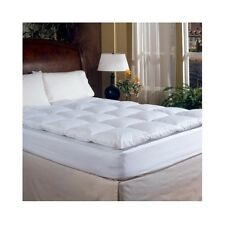 Down Mattress Topper Top Feather Bed Queen Hotel Grand Luxurious Featherbed Pad
