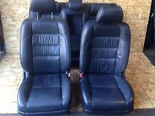 LEXUS GS300 OEM SET FRONT AND REAR INNER POWER HEATED LEATHER SEAT SEATS BLACK