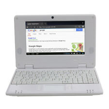 DWO netbook 7 pulgadas Android 4.4 Wifi VIA 8880 512MB RAM 4G (Blanco)