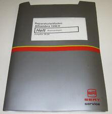Werkstatthandbuch Seat Alhambra Bremsanlagen Bremsen ABS ab Baujahr 1996!