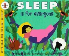 Sleep Is for Everyone (Let's-Read-and-Find-Out Science 1), Showers, Paul, Good B