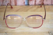 Vintage Jewel By Alexander Collection Eyeglasses Red Jewel Frame Italy FP79 140