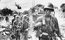 Framed Print - Soldiers of Vietnam Coming Back from the Jungle (Picture Art)