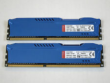 8GB (2x4GB) Kingston HyperX Fury DDR3 1600 (PC3 12800) Memory P/N HX316C10FK2/8