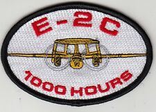 VAW-124 BEAR ACE E-2C 1000 HOURS OVAL SHOULDER PATCH