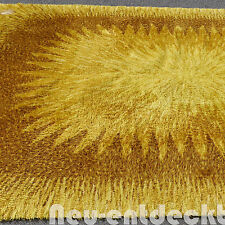 Vintage tapis Lounge Carpet space age design 60 70er 334x245 soleil retro 1411