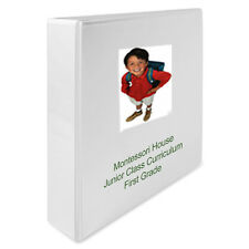 Montessori Teaching Album First Grade Curriculum @ Home