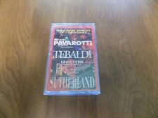 THE GREAT VOICES OF CHRISTMAS Cassette Tape -Pavarotti,Tebaldi,Price,Sutherland