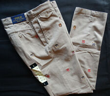 Polo Ralph Lauren straight fit University chino Boating caqui talla 34/32