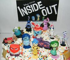 Disney Inside Out Movie Figure Set of 12 Cake Toppers / Cupcake Party Favors