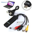 USB 2.0 Video Audio VHS to DVD Converter Capture Card Adapter for PC Win 7/8/10