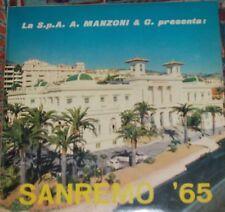 SANREMO 1965 - Le 24 canzoni CDI - DISCO PROMOZIONALE - Radio Svizzera Italiana