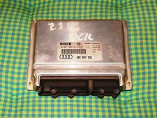 Calculateur Audi A4 A6 2l8 V6 ACK 193 ch  4D0907551 ECU Bosch 0261204214/21