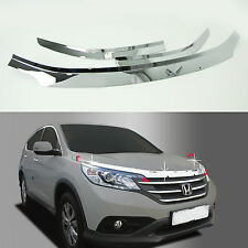 Chrome Shield Guard Hood Protector Deflector Ventshade for 12+ Honda CR-V