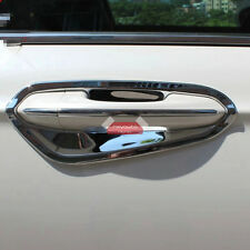 ABS Chrome Door Handle Bowl Cover Trim For Ford Fusion Mondeo 2013 2014 2015 16