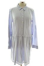 Haut femme Gap robe chemise taille 14 large en coton bleu