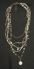 SILPADA - N1673 - Jasper Bamboo Coral Freshwatr & Mother of Pearl Necklace - RET