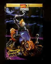 Toy Biz Marvel Comics Ghost Rider Level 3 Model Figure Kit  1993 46 Pieces SW