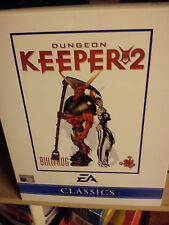 ELECTRONIC ARTS DUNGEON KEEPER 2  PCDC BOX SET GAME COMPLETE