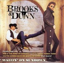 BROOKS & DUNN Waitin' On Sundown CD 1994 Arista Records BMG Club Issue country