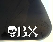 OBX Pirate Theme - Outer Banks NC Beach Vacation die cut decal/sticker