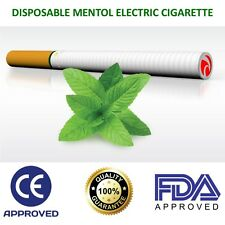 "6"" Disposable Electronic Cigarette Pen E-Cig 500 Puffs Menthol Flavour Gift  UK"