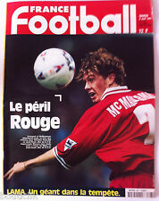 France Football du 8/04/1997; Le péril Rouge, Liverpool et McManaman