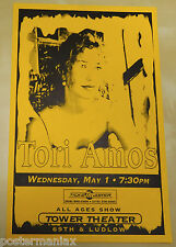 TORI AMOS Original 1996 Concert Poster - pretty early Tori poster