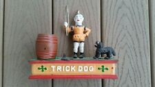 (HUBLEY?) TRICK DOG BANK (ANTIQUE) 1930'S TO 1950'S (OLD) NOT TAIWAN MADE