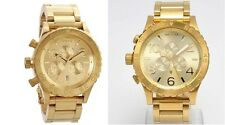 NIXON 51-30 + 42-20 Chrono Gold. His and Hers Watch Set A083502 A037502 5130