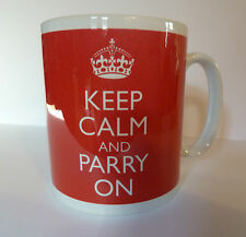 New Keep Calm and Parry On Gift Mug Fencing Sport Present Sword Swordsmanship
