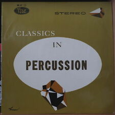 "GENE KRUPA ""CLASSICS IN PERCUSSION""  RARE ORIG FRENCH LP"