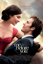 ME BEFORE YOU MOVIE POSTER 2 Sided ORIGINAL 27x40 EMILIA CLARKE SAM CLAFIN