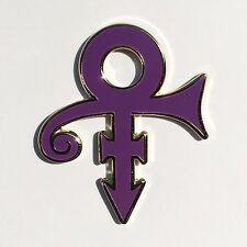 PRINCE enamel lapel pin purple rain npg revolution 1999
