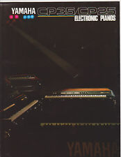 VINTAGE MUSICAL INSTRUMENT CATALOG #10443 - 1980s YAMAHA ELECTRIC PIANOS CP35/25