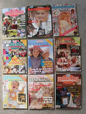Handmade Craft Decoration Fashion Patterns Heirlooms Womens Magazine Lot