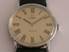 OMEGA VINTAGE 80´S CAL 625 STAINLESS STEEL ALL UNIXES