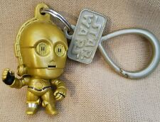 Disney C3PO BAG CLIP Star Wars The Force Awakens KEYCHAIN