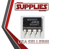 JRC 4558D OPAMP for TS808 Mod TS9 TS7 Chip USA Seller