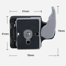 Black Camera 323 Quick Release Adapter with 200PL-14 Compat Plate