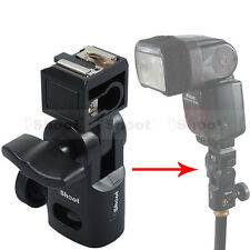 Hot Shoe Mount Flash Bracket/Umbrella Holder for Wireless Radio Flash Trigger