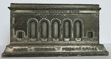 Vintage FORBES NATIONAL BANK PITTSBURGH Still Building Bank A.C. REHBERGER