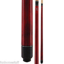MCDERMOTT LUCKY L5 Red Two-piece Billiard Table Pool Cue Stick & FREE CASE