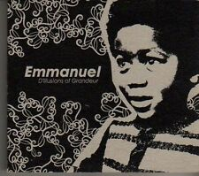 (CR325) Emmanuel, D'Illusions Of Grandeur - 2005 DJ CD