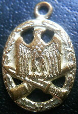 ✚6674✚ German army General Assault Badge medal post WW2 1957 pattern MINIATURE